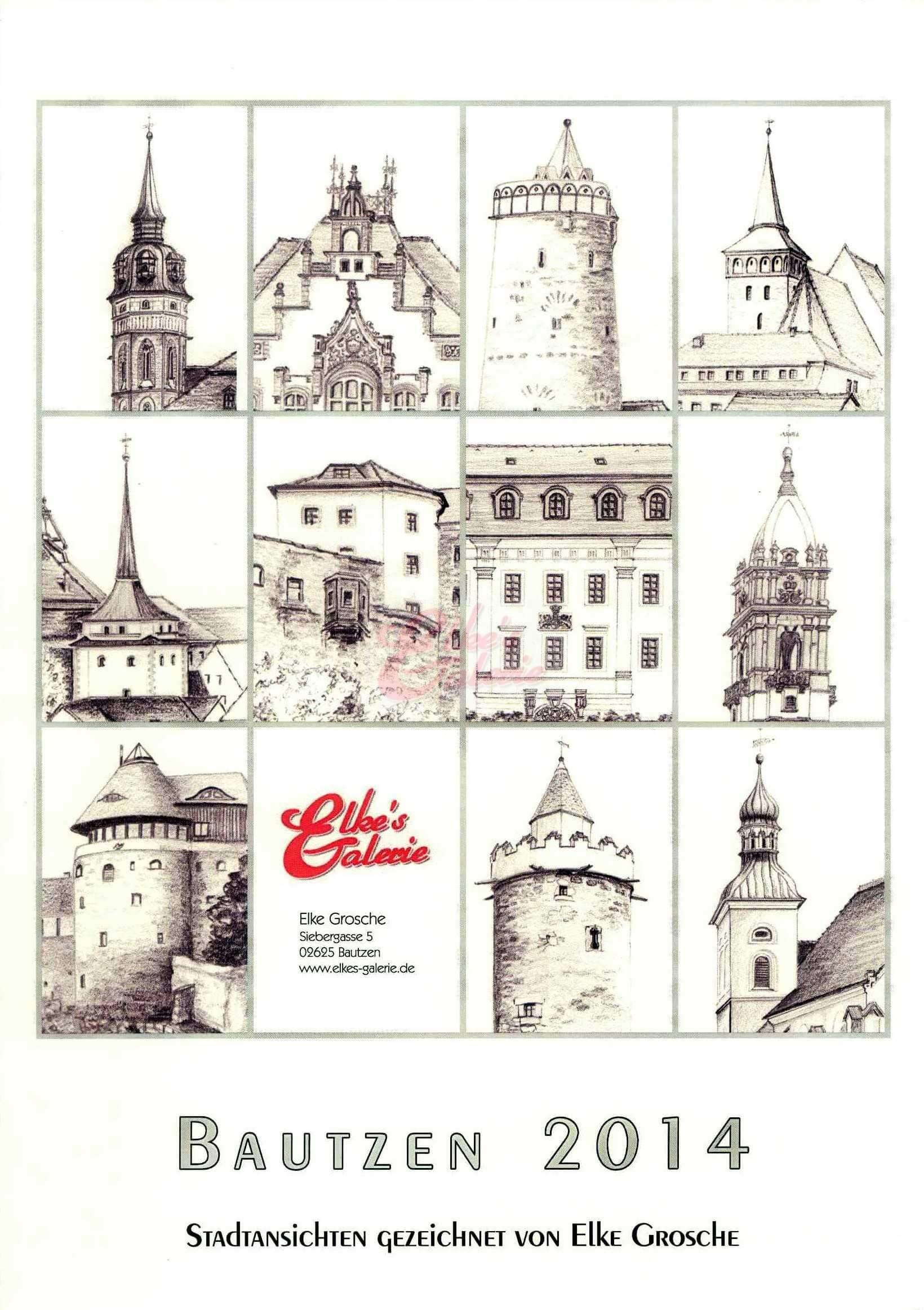 Bautzen Kalender 2014