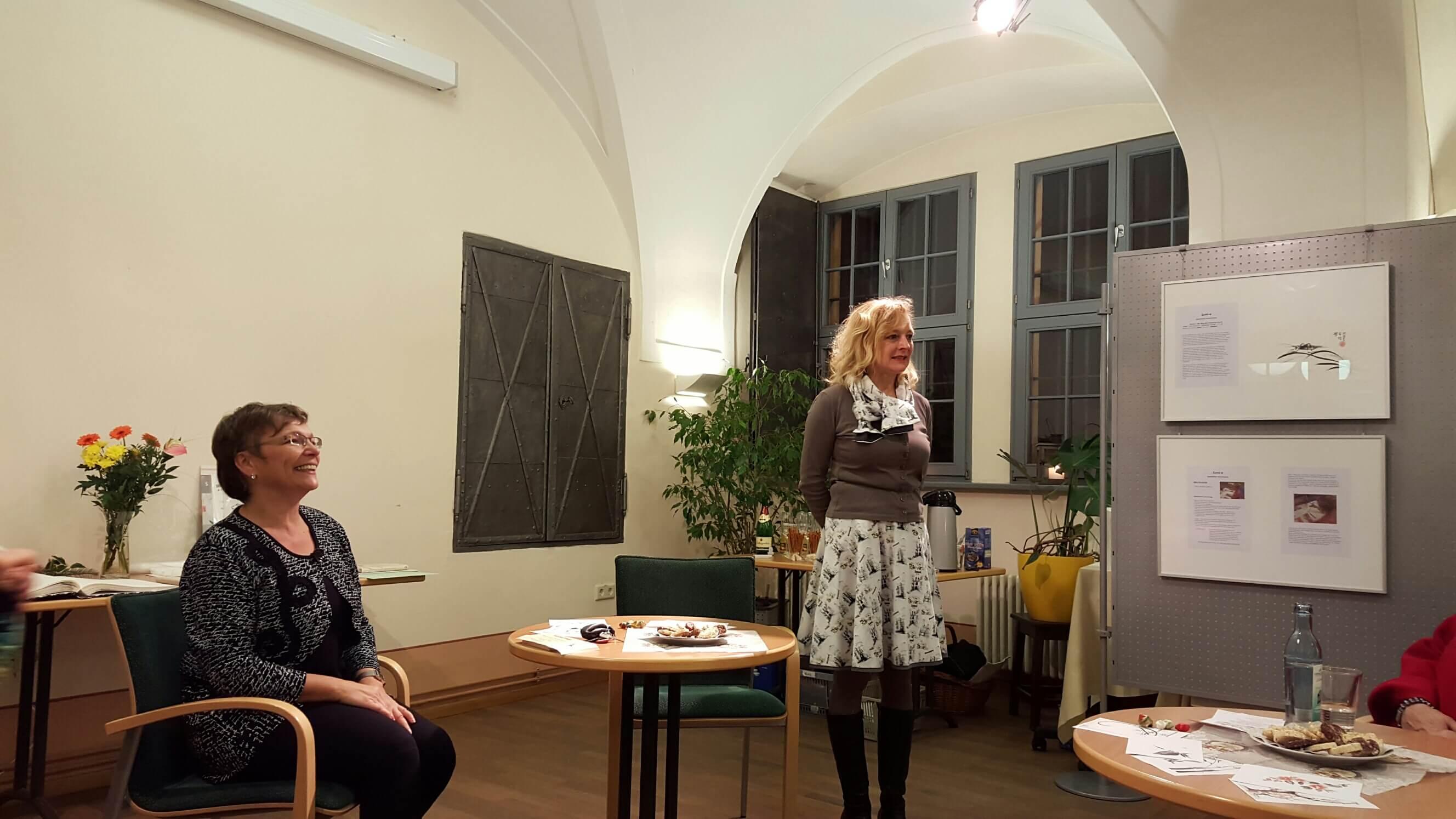 Vernissage Stadtbibliothek Bautzen_27.11.2015_01