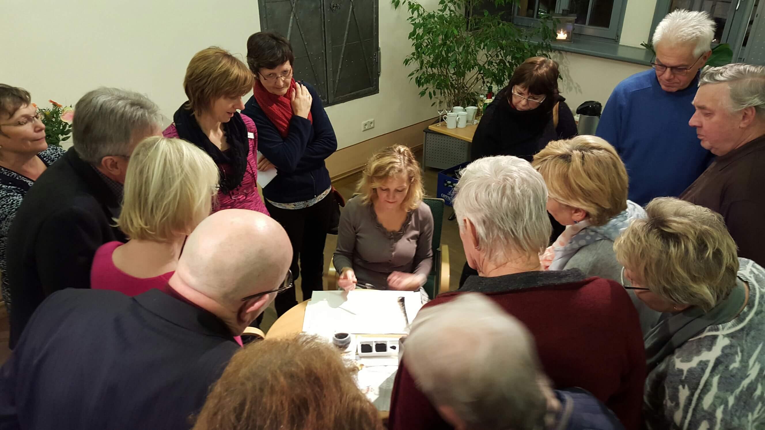 Vernissage Stadtbibliothek Bautzen_27.11.2015_06